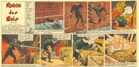 """Detail from """"Robin des Bois"""" in L'Ventureux V. 2 n. 48 Dec. 4, 1937"""