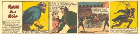 """Detail from """"Robin des Bois"""" in L'Ventureux V. 2 n. 49 Dec. 11, 1937"""