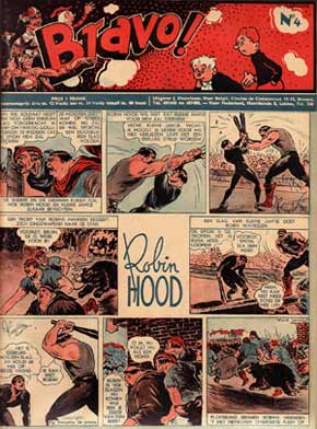 From Bravo, the Belgian comic written in Dutch