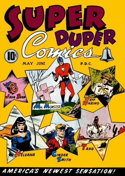 Super Duper Comics NO. 3 from 1947