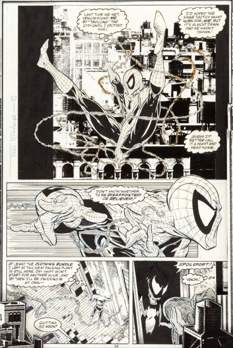 Amazing Spider-Man issue 316 page 24 by Todd McFarlane.  Source.