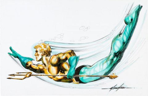Aquaman by Mike Grell.  Source.