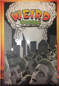 Basil Wolverton's Weird Worlds Artist's Edition published cover