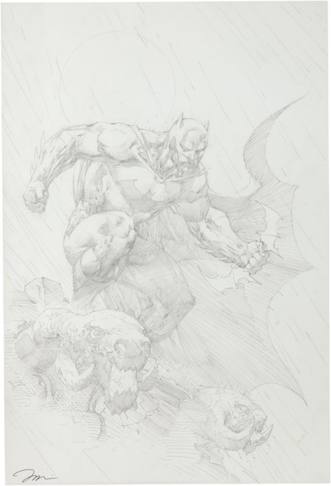 Batman Hush Unwrapped cover by Jim Lee.  Source.