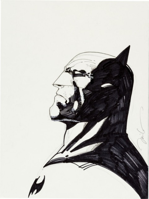 Batman by Jim Lee.  Source.