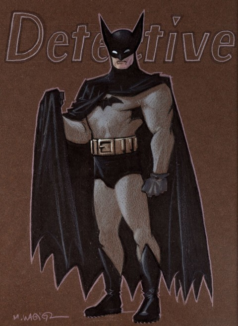 Batman by Matt Wagner.  Source.