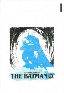 Batman promo bag 1989