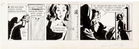 Ben Casey Daily 4-12-65 by Neal Adams.  Source.