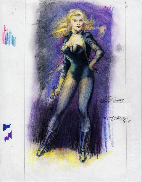 Black Canary by Nick Cardy.  Source.