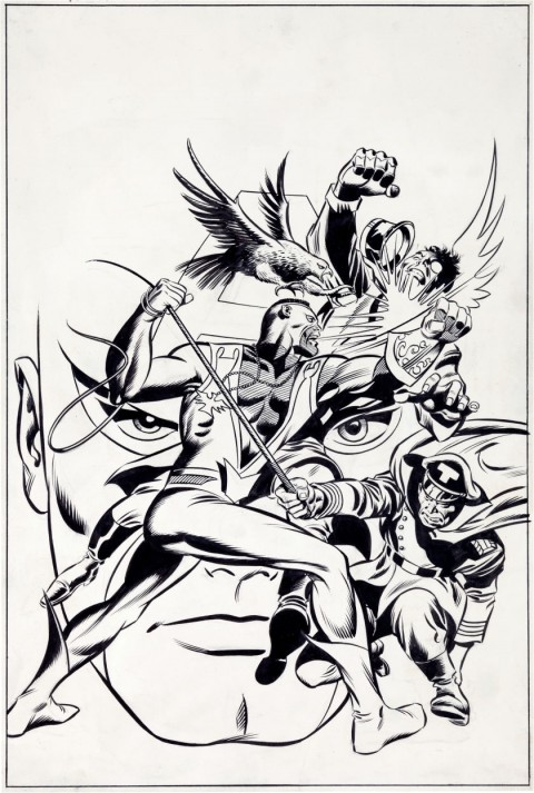 Captain America issue 118 cover by Gene Colan and Joe Sinnott.  Source.