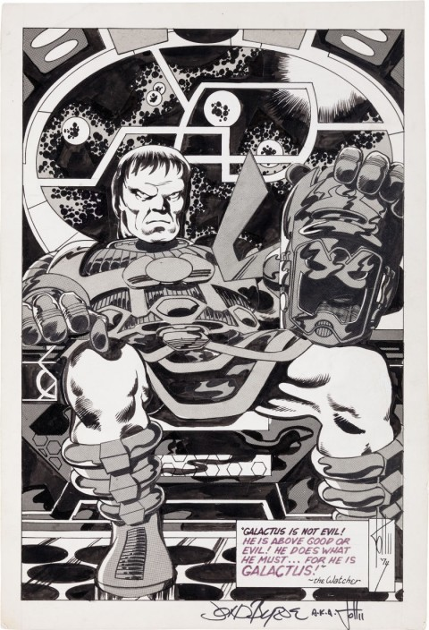 Contemporary Pictorial Literature issue 11 page 13 by John Byrne.  Source.