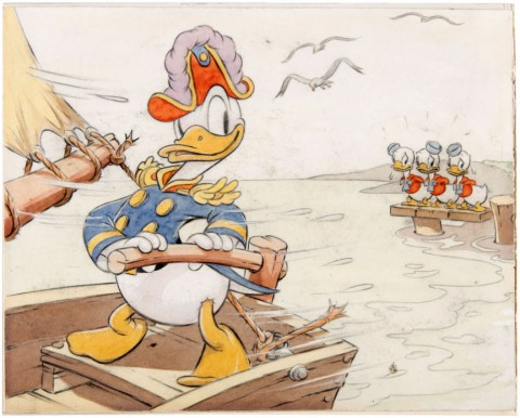 Donald Duck Sea Scouts from Good Housekeeping July 1939 by Hank Porter.  Source.
