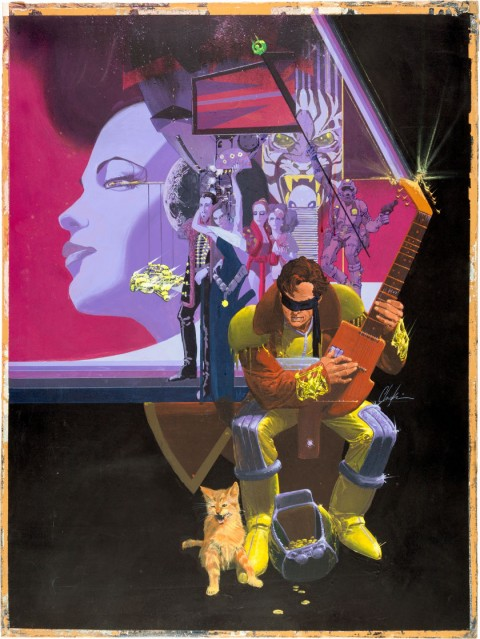 Epic Illustrated issue 8 Cover by Howard Chaykin.  Source.