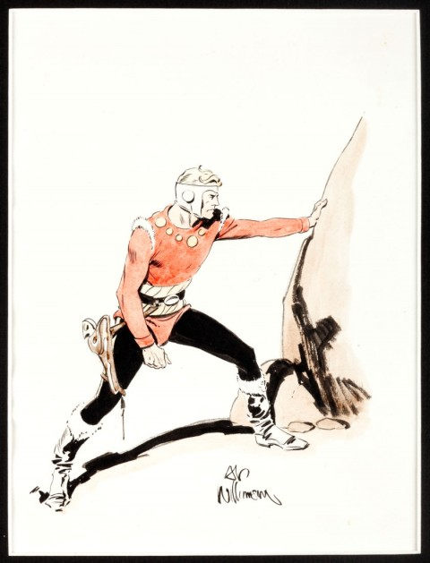 Flash Gordon by Al Williamson.  Source.