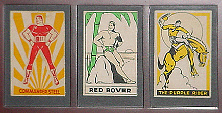Three of Stephen Lipsons framed  Anglo-American Glo-pathes