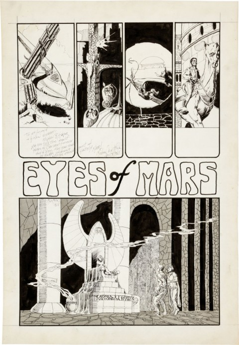 Graphic Showcase issue 2 page by Michael Kaluta.  Source.