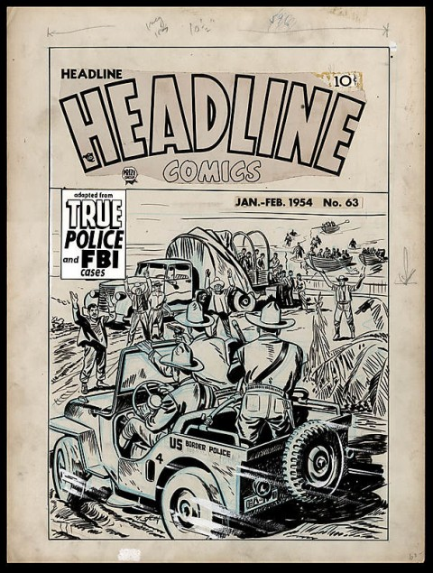 Headline Comics issue 63 cover by Marvin Stein.  Source.