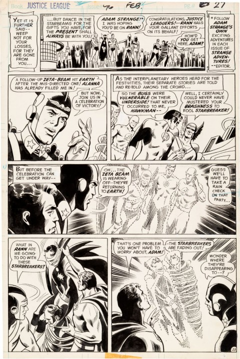Justice League of America issue 96 page 23 by Dick Dillin and Joe Giella.  Source.