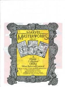 Marvel Masterworks Excalibur promo bag 1987 front
