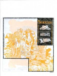Marvel Masterworks Inferno promo bag 1988 back