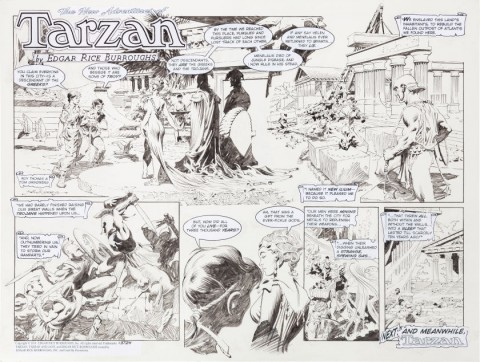New Adventures of Tarzan Sunday #3724 by Tom Grindberg.  Source.