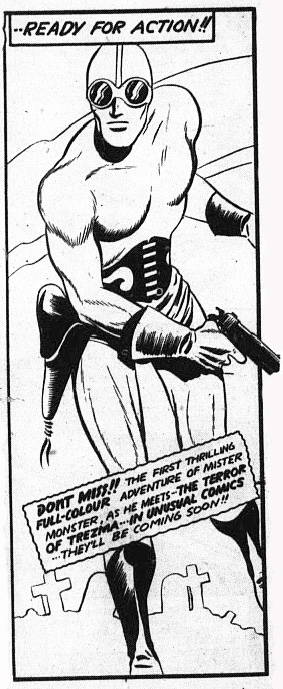 The last Doc Stearne panel from Triumph Comics No. 31