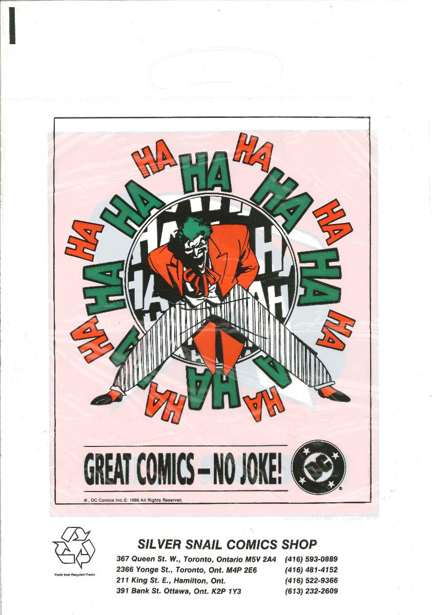 Comic Promo Bags