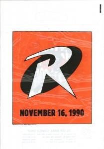 Robin Joker promo bag 1989 front