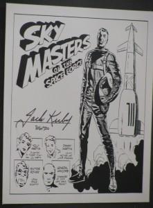 Sky Masters signature plate