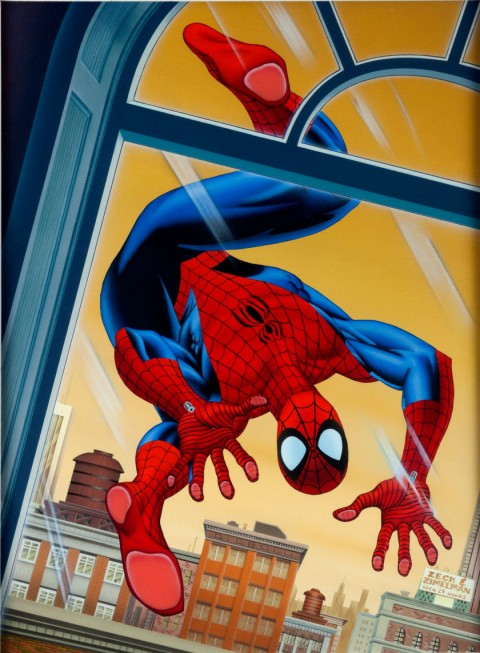 Spider-Man Magazine For Kids  issue 15 cover by Mike Zeck and Phil Zimelman.  Source.