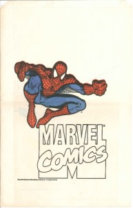 Spider-Man promo bag 1991 front