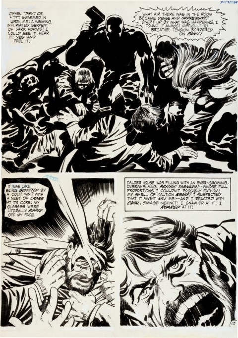 Spirit World issue 1 page 10 by Jack Kirby and Vince Colletta.  Source.