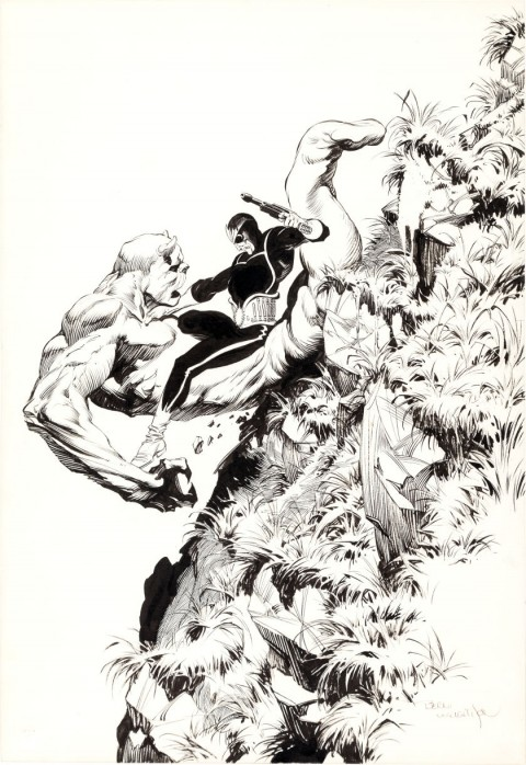 Star-Lord by Bernie Wrightson.  Source.