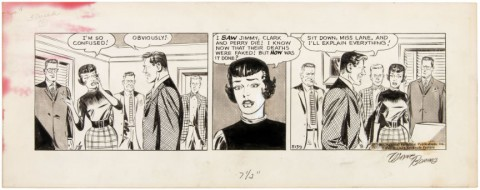 Superman daily 01-18-1964 by Wayne Boring.  Source.