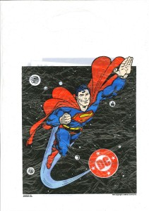 Superman promo bag 1986 front