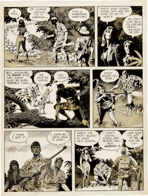 Witzend issue 1 Animan page 3 by Wally Wood.  Source.