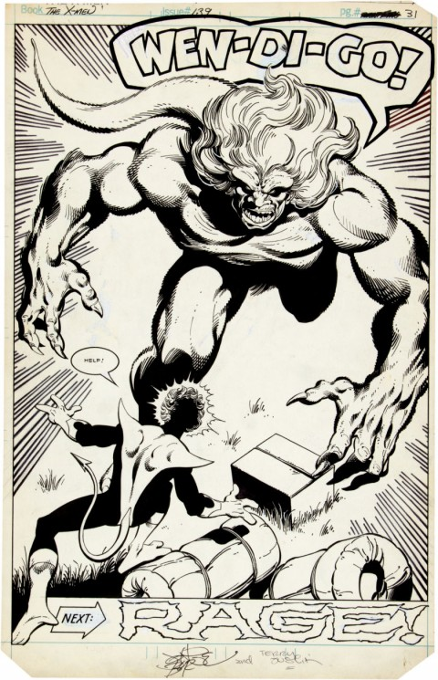 X-Men issue 139 page 22 by John Byrne and Terry Austin.  Source.