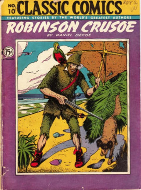 The first Canadian published Classics Comic