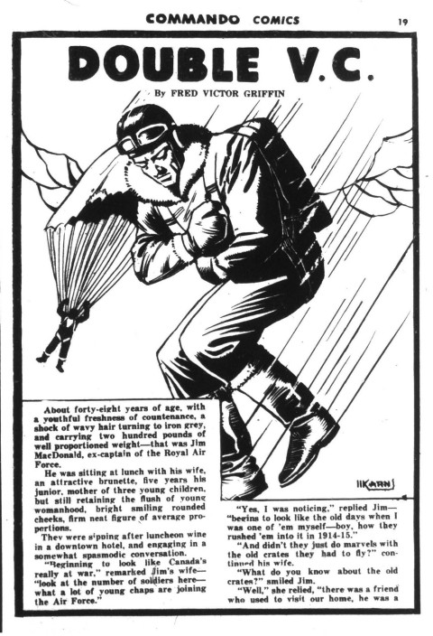 Text story from Commando Comics No. 4