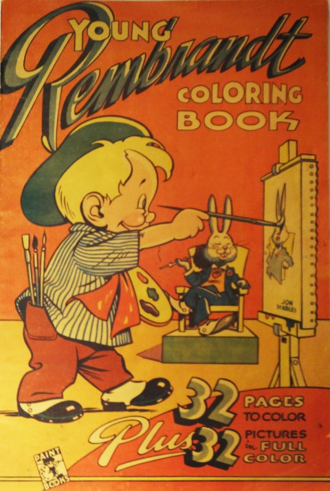 John Stables' 1945 Colouring Book