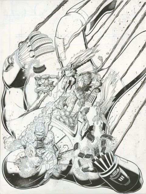 All-New X-Men issue 16 cover by Arthur Adams.  Source.