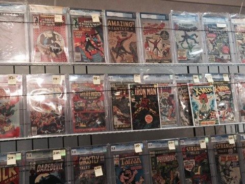 Great books from Doctor Comics. Is that an Amazing Fantasy #15 that I see?