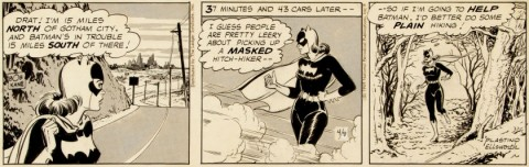 Batman Daily 4-9-69 by Al Plastino.  Source.