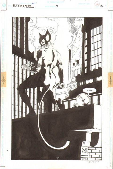 Batman: The Long Halloween issue 9 page 12 by Tim Sale.  Source.