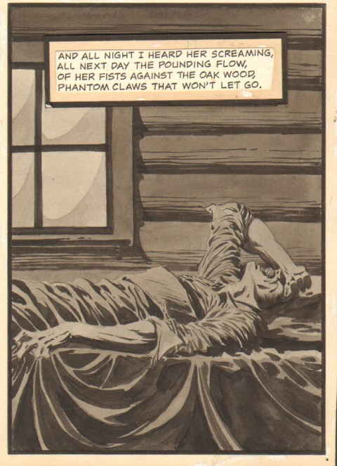 Creepy issue 77 page by Bernie Wrightson.  Source.
