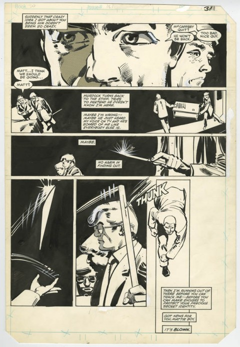 Daredevil issue 181 page 31 by Frank Miller and Klaus Janson.  Source.