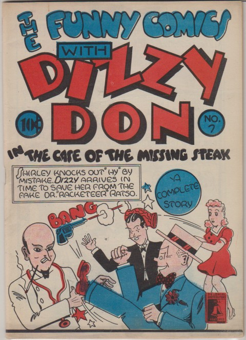 The copy of The Funny Comics No. 7 in the collection