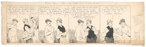 Gasoline Alley 10-27-1920 by Frank King