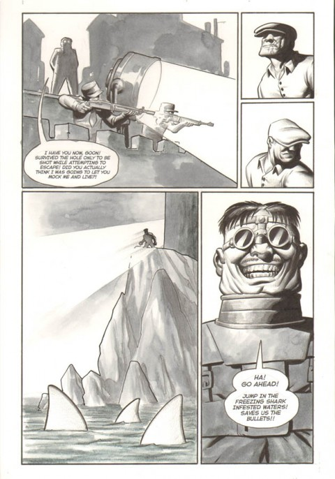 Goon issue 13 page 17 by Eric Powell