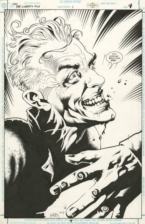 JSA The Liberty File issue 1 page 4 by Tony Harris and Ray Snyder